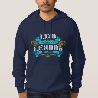 1970 the Birth of Legends v2 Moletom Hoodie