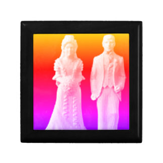 1970s Bride and Groom Gift Box