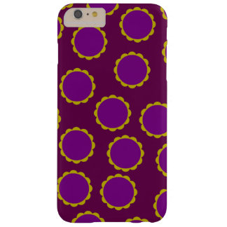 1970s Flower Power Retro Hippy Print Barely There iPhone 6 Plus Case