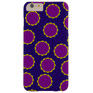 1970s Flower Power Retro Print Barely There iPhone 6 Plus Case