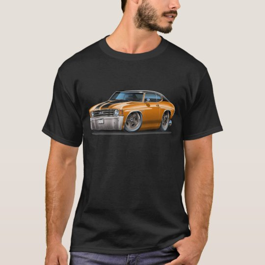 1971-72 Chevelle Orange-Black Top Car