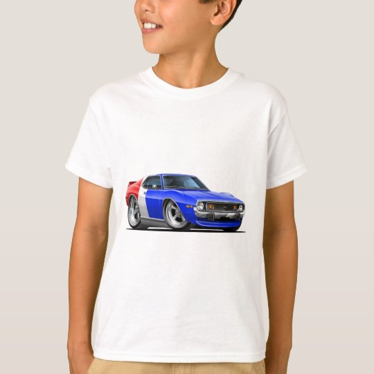 1971-72 Javelin Red White Blue Car T-Shirt