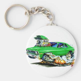 1971-74 Nova Green Car Key Ring