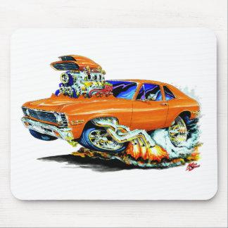 1971-74 Nova Orange Car Mouse Mat