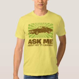 1971 Chevrolet Camaro T Shirt