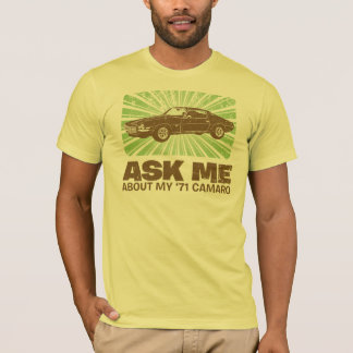 1971 Chevrolet Camaro T-Shirt