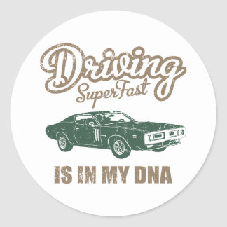 1971 Dodge 440 Charger Round Sticker