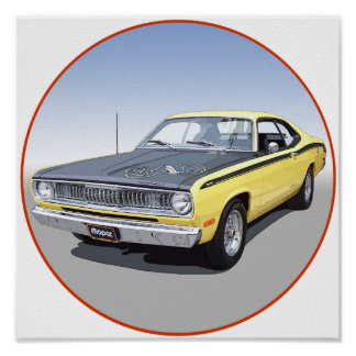 1971 Duster 340 Poster