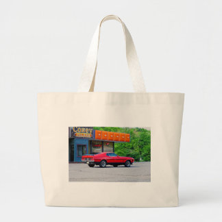 1971 Ford Mach 1 Mustang Tote Bags