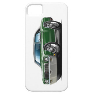 1971 Monte Carlo Dark Green-Black Top Car iPhone 5 Covers