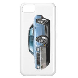 1971 Monte Carlo Light Blue-Black Top Car Case For iPhone 5C