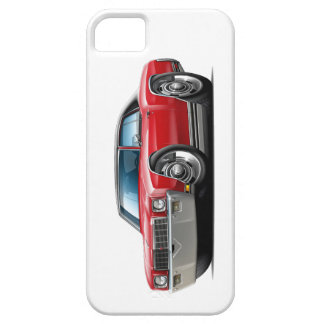 1971 Monte Carlo Red-Black Top Car iPhone 5 Cover