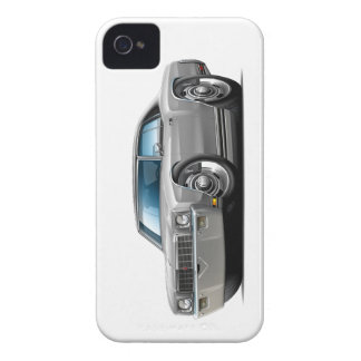 1971 Monte Carlo Silver-Black Top Car iPhone 4 Case-Mate Cases