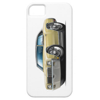 1971 Monte Carlo Tan-Black Top Car iPhone 5 Case