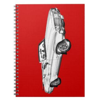 1971 Oldsmobile Cutlass Supreme Car Illustration Note Book