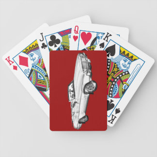 1971 Oldsmobile Cutlass Supreme Car Illustration Playing Cards