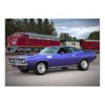 "1971 Plymouth Barracuda Cuda Invitations 5"" X 7"" Invitation Card"