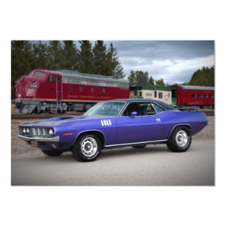 1971 Plymouth Barracuda Cuda Invitations