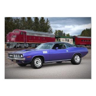 1971 Plymouth Barracuda Cuda Invitations