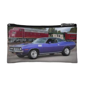 1971 Plymouth Barracuda Cuda Mopar Muscle Car Cosmetic Bag