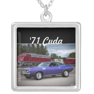 1971 Plymouth Barracuda Cuda Mopar Necklace
