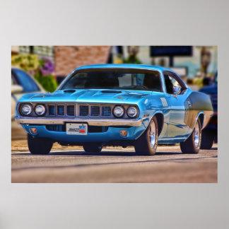 1971 Plymouth 'Cuda 383 Poster