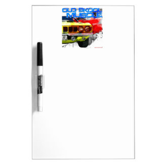 "1971 Plymouth Cuda ""Old Skool Muscle"" Dry Erase Whiteboards"