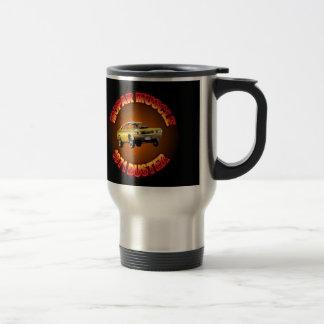 1971 Plymouth Duster Mug. Stainless Steel Travel Mug