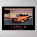 1971 Plymouth Hemi Cuda - Muscle Car Print