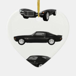 1972 Camaro: Christmas Ornament