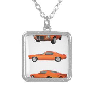 1972 Camaro: Silver Plated Necklace