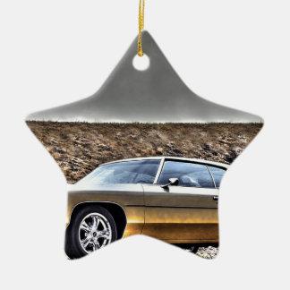 1972 Car Hdr Veteran Classic Christmas Ornament