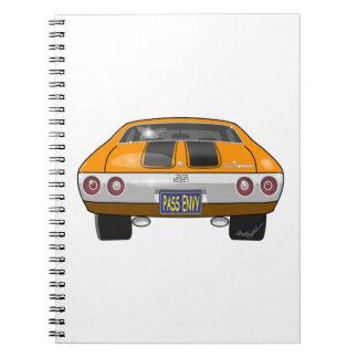1972 Chevrolet Chevelle Spiral Notebook