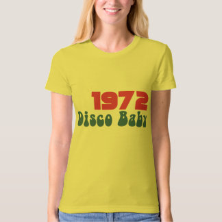 1972 DISCO Baby Graphic RETRO BIRTHDAY Tee