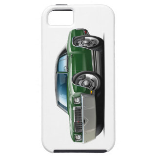 1972 Monte Carlo Dk Green-Black Top Car iPhone 5 Covers