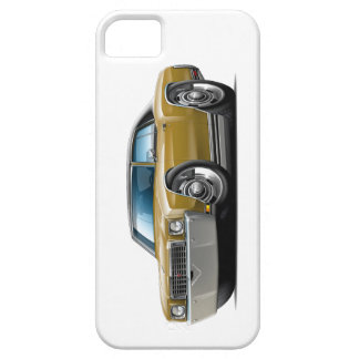 1972 Monte Carlo Gold-Black Top Car iPhone 5 Cases