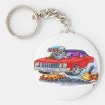 1972 Monte Carlo Red Car Key Chains