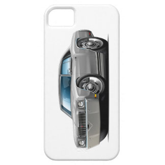 1972 Monte Carlo Silver-Black Top Car iPhone 5 Covers