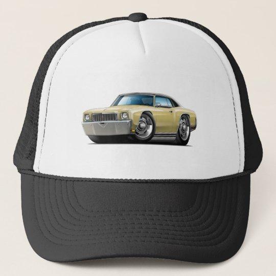 1972 Monte Carlo Tan-Black Top Car Cap
