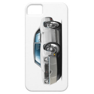 1972 Monte Carlo White-Black Top Car iPhone 5 Cover