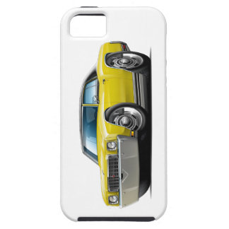 1972 Monte Carlo Yellow-Black Top Car iPhone 5 Cases