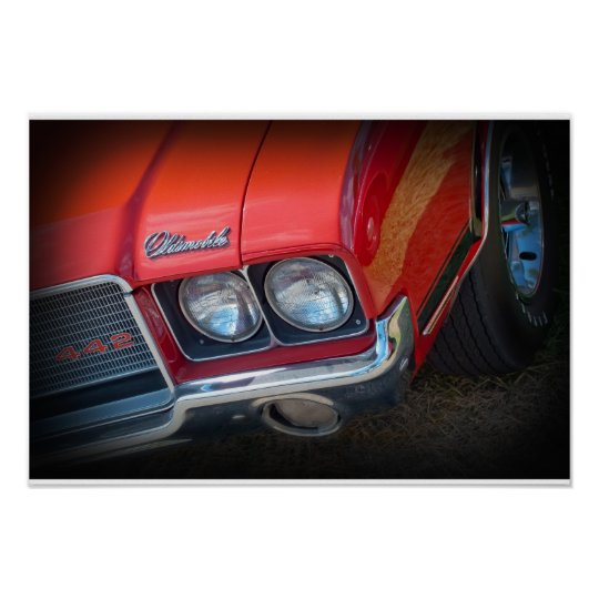 1972 Oldsmobile 442 Poster