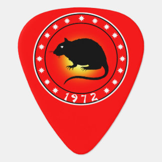 1972 Year of the Rat Plectrum