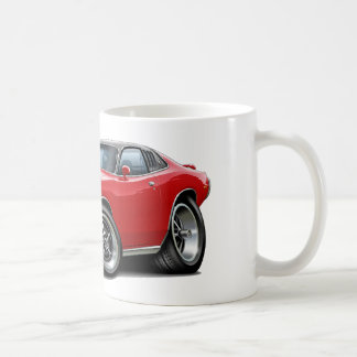 1973-74 Charger Red-Black SE Car Coffee Mug