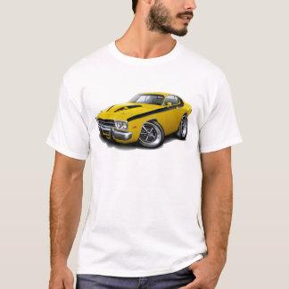 1973-74 Roadrunner Yellow-Black Car T-Shirt