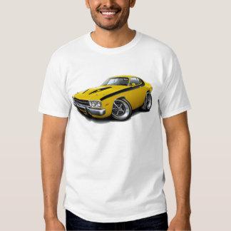 1973-74 Roadrunner Yellow-Black Car Tshirt