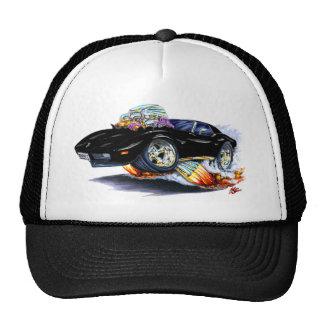 1973-76 Corvette Black Car Mesh Hat