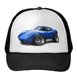 1973-76 Corvette Blue Car Cap