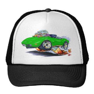 1973-76 Corvette Green Convertible Trucker Hat