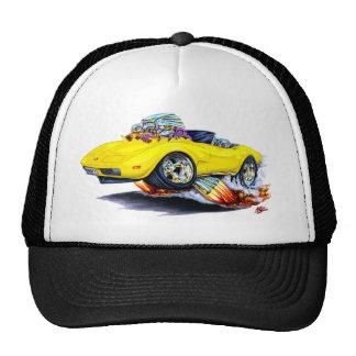 1973-76 Corvette Yellow Convertible Cap